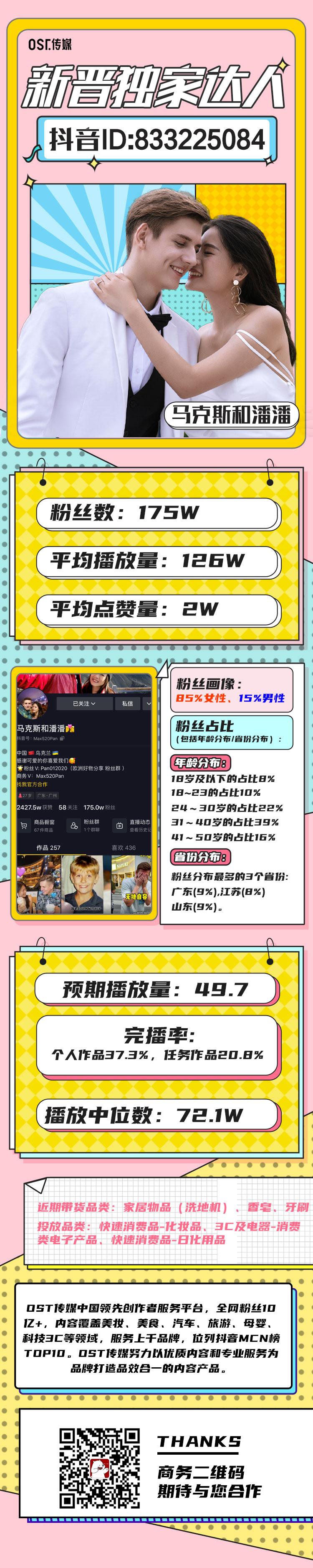 新晋达人|OST传媒新晋独家达人马斯克和溜溜!第1张
