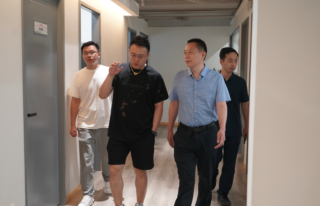 一周资讯 | 四川省委网信办副主任黎召阳一行莅临OST传媒第1张