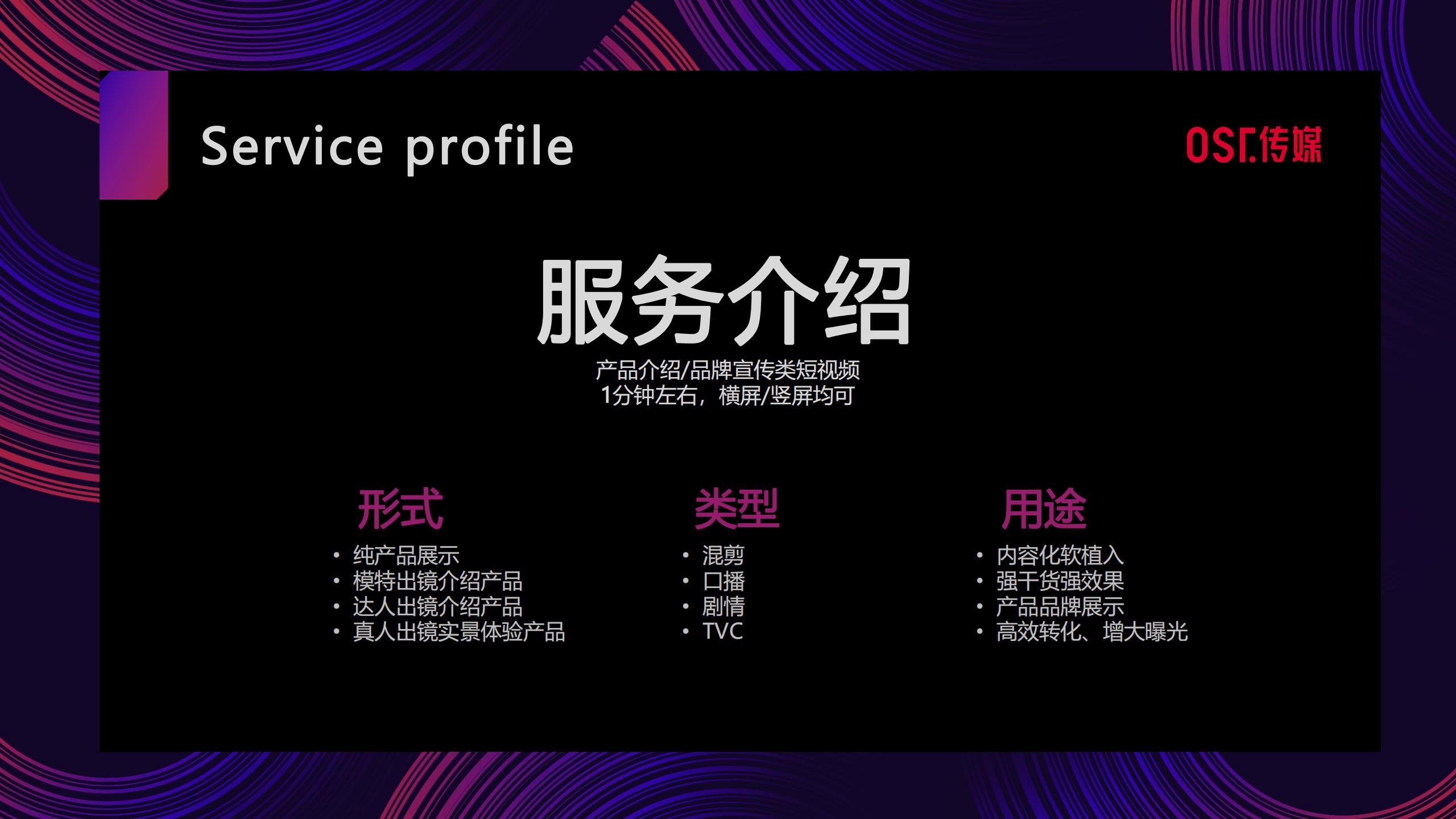 OST传媒短视频服务介绍第8张