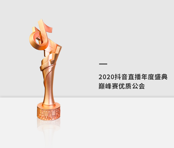 2020抖音直播年度盛典巅峰赛优质公会